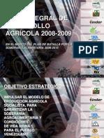 Plan Integral de Desarrollo Agricola