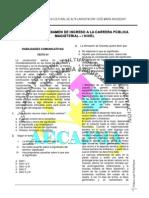 36196496 Simulacro de Examen a La Carrera Publica Magisterial i Nivel