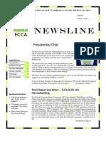 FCCA Fall 2007 Newsletter