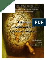 Proiect Conflicte internationale
