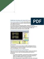 Medición de planos de AutoCAD con Presto 12