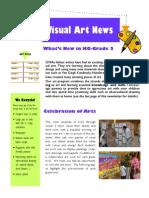 January Visual Art Newsletter