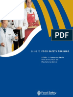 Guide to Food Safety Training L1