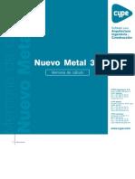 Nuevo Metal 3D - Memoria de Cálculo