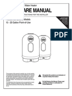Non-Metallic Electric Water Heater USE & CARE MANUAL
