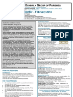 Parish Newsletter - February 2013