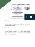Control de Instrumentos de Medición Utilizando Redes Industriales