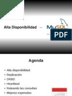 MySQL - Alta Disponibilidad