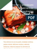 Platos Tecnicas Culinarias Saludables (Senc)