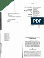 José Joaquim Gomes Canotilho - Dogmática dos Direitos Fundamentais e Relações Privadas. In Ingo Wolfgang Sarlet - Constituição, Direitos Fundamentais e Direito Privado (2006)