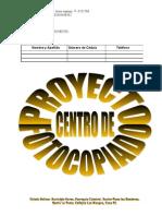 Proyecto Centro de Fotocopiado