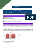 UNIDADE III. Trabalho e energia e Conservação de energia
