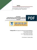 Descripción de la Propuesta del Curso de Capacitación