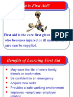 First Aid Process