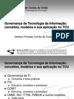 TCU 2007 - GOVERNANÇA DE TI