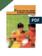 Manual de Educacion Fisica Adptada Al Alumnado Con ad Paidotribo