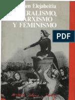 116629247 Carmen Elejabeitia Liberalismo Marxismo y Feminismo 1987