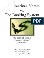 The American Voters Vs. The Banking System Vol. 2 by Thomas Schauf
