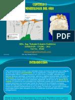 CAPÍTULO I MINERALOGIA DEL ORO