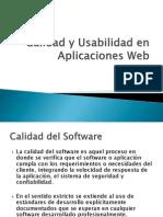 4. Calidad y Usabilidad en Aplicaciones Web