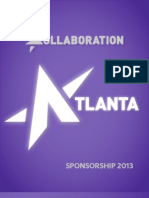 2013 Kollaboration Atlanta Sponsorship Information