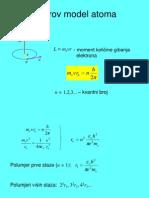 borov model atoma