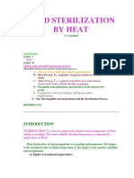 Food Sterilization by heat
