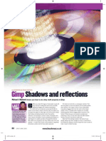 Gimp Shadows and Reflections