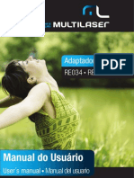 Manual - Adaptador Wireless Multilaser