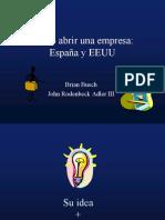 Como Abrir Una Empresa Espana y EEUU