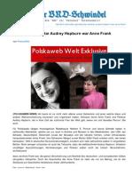 Brd-schwindel.org-Unfassbar Weltstar Audrey Hepburn War Anne Frank