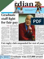 Glasgow University Guardian - January 21st 2009 - Issue 5
