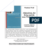 Winfried Wolf - Afghanistan - Der Krieg Und Die Neue Weltordnung