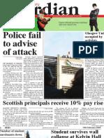 Glasgow University Guardian - February 10th 2009 - Issue 6