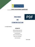 PROCESO DE COMUNICACIÓN proyecto
