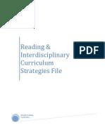 Reading & Interdisciplinary Curriculum Strategies #1 InTASC