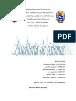 Delimitación del área a auditar y condiciones del ambiente