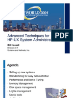 Advanced Techniques for HP-UNIX
