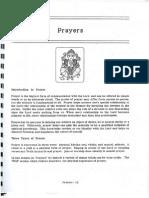 Types and Purpose of Prayers