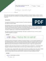 Escrever o código JavaScript
