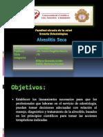 Pato II Caso Clinico - Alveolitis