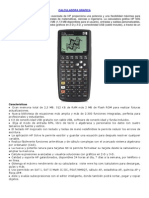 Calculadora Grafica Hp 50g