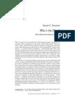 Daniel C. Dennett - Who's On First - Heterophenomenology Explained