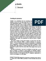 Daniel C. Dennett - Quining Qualia