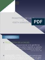 Promotores de Salud y Visita Domiciliaria