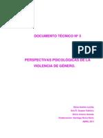 PERSPECTIVAS PSICOLÓGICAS DE LA VIOLENCIA DE GÉNERO