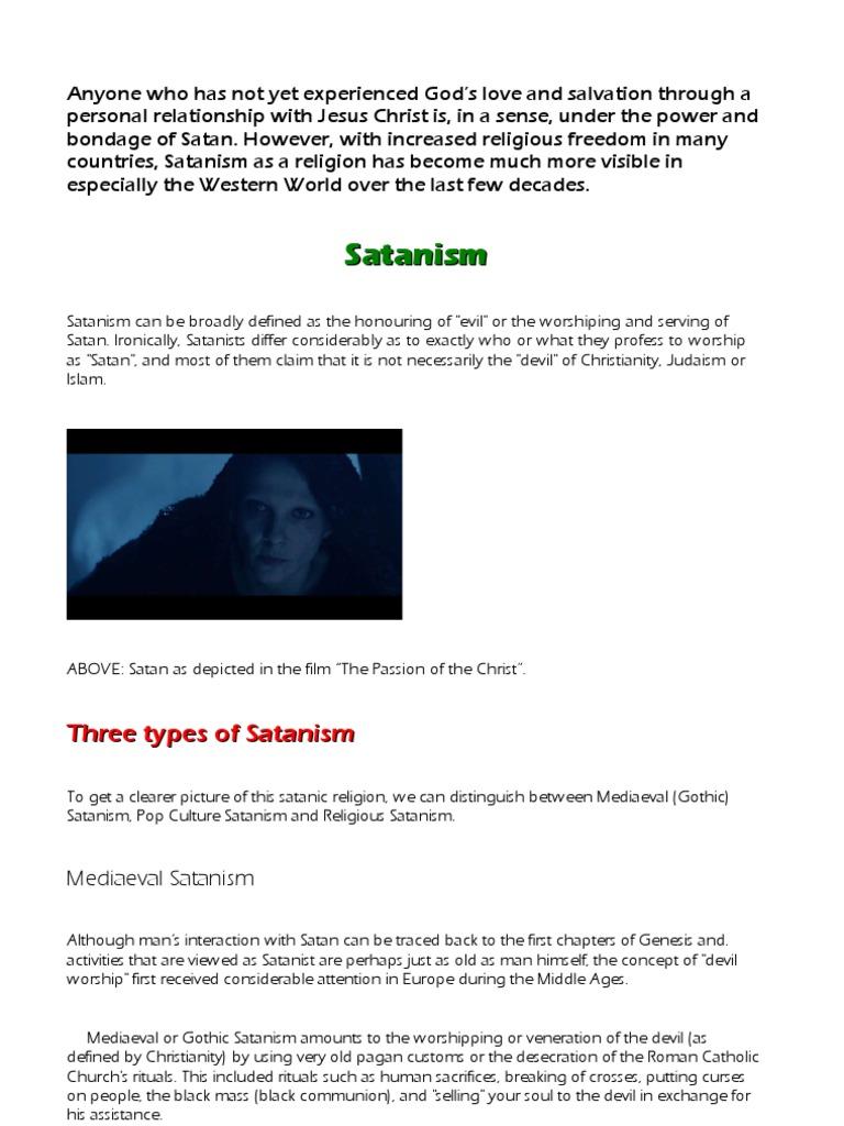 Satanism | Satanism | Satan
