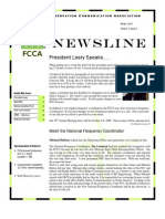 FCCA Winter 2007-2008 Newsletter