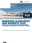 Reindeer Husbandry and Barents 2030