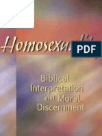 Homosexuality. Biblical Interpretation and Moral Discernment